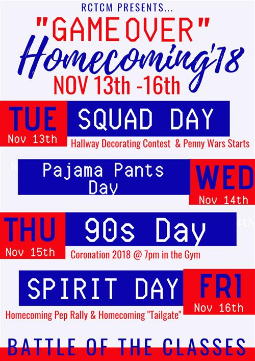Homecoming Spirit Week