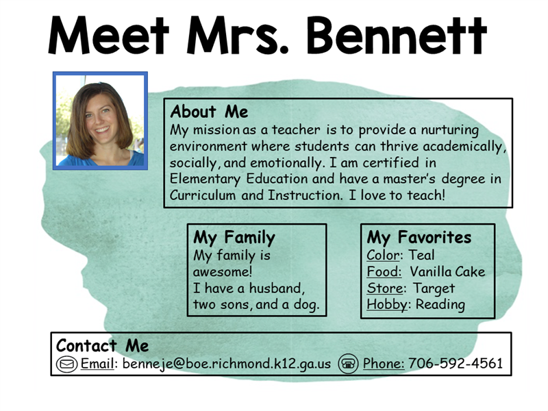 Meet Mrs. Bennett picture