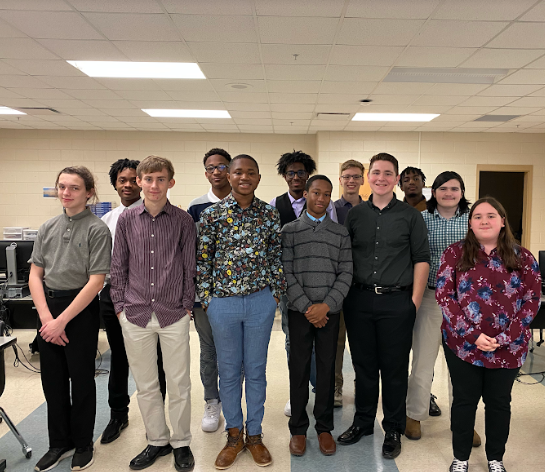 5th Period Engineering Concepts' Student in their attire for WEAR-IT-Wednesday 11/20/19