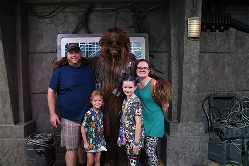 Our Favorite Wookie!