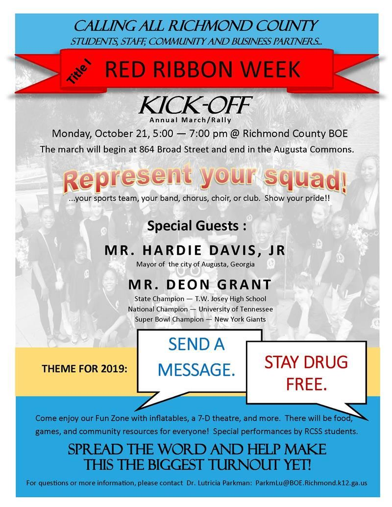 Red Ribbon Kick-Off Event