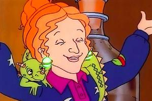 I wish I were Ms. Frizzle!