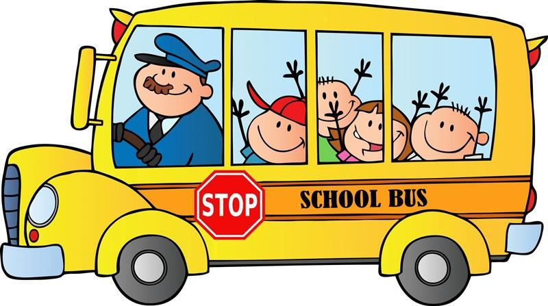 School Bus Image. Click to take Transportation Survey