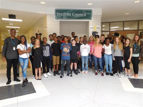 2018 Pine Hill Student Council