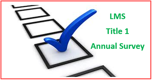 Title 1 Annual Survey