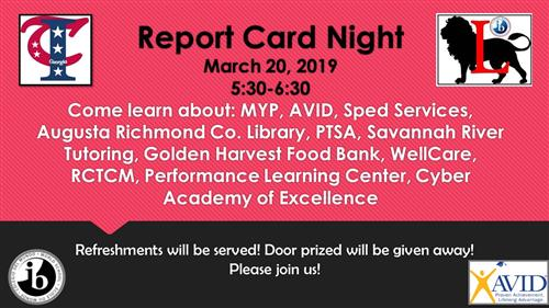 Report Card Night