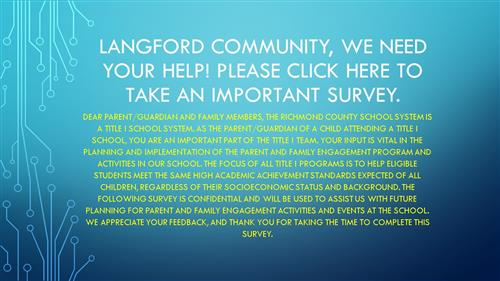 Langford Middle School / Homepage