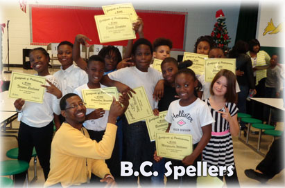 B.C. Spelling Bees Participants