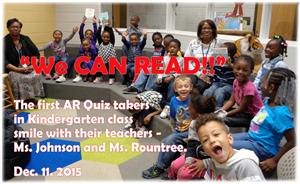 Kindergarten _ We can READ!