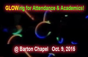 GLOW party for Attendance & Academics