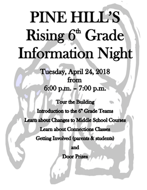Rising 6th Grade Information Night