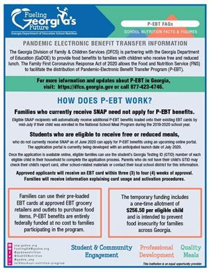 Pandemic Electronic Benefit Transfer Information