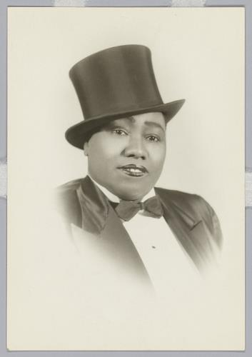 Gladys Bentley - Portrait
