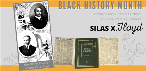 Black History Month images of Silas X. Floyd