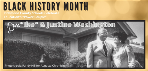 Black History Month Education's Power Couple Drs. Ike and Justine Washington
