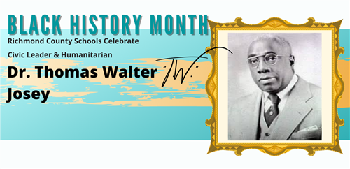 Black History Month profile picture of Thomas Walter Josey