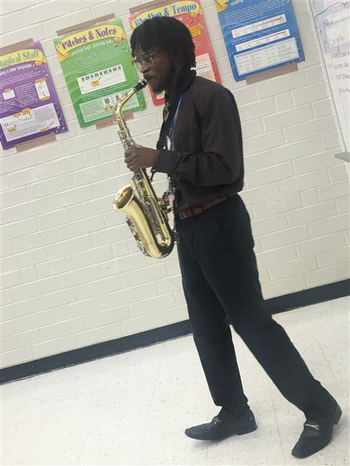 Band Director-Mr. Freeman