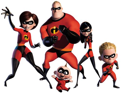 Incredibles Superhero Picture