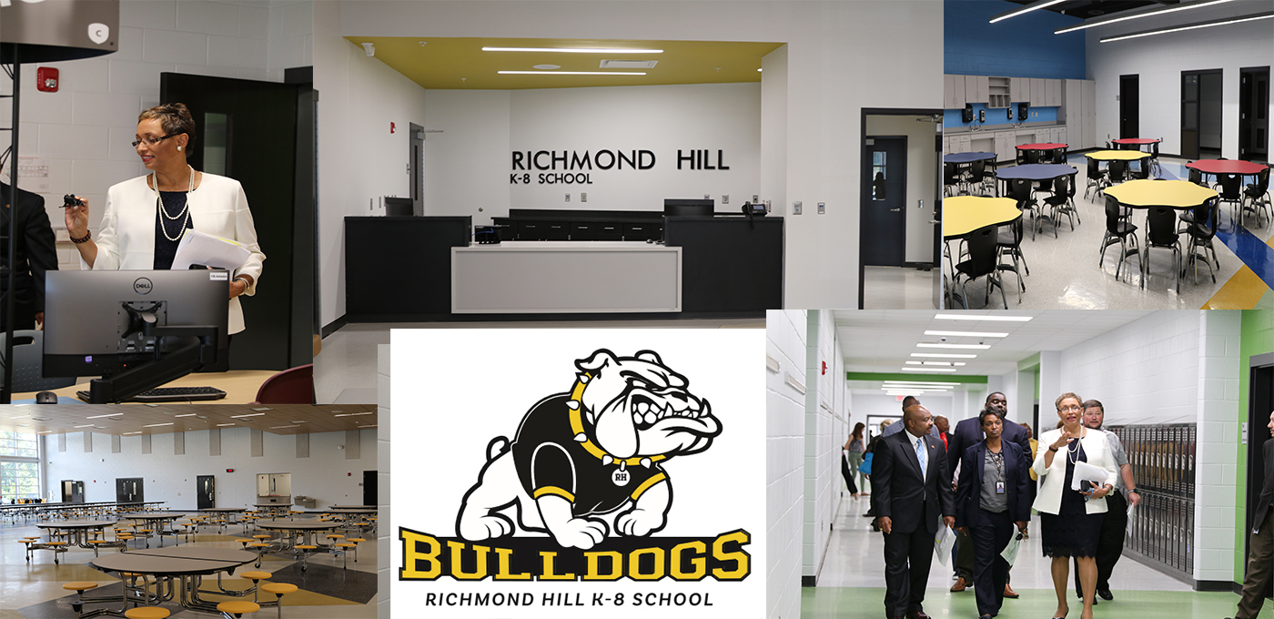 Richmond Hill K-8 School / Homepage