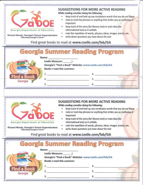 Lexile Bookmarks