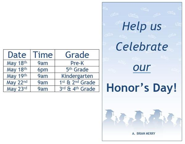 Honor's Day